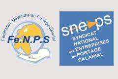 Logo syndicats FeNPS sneps devient PEPS (Professionnels de l'Emploi en Portage Salarial)