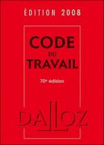 Couverture du code du travail 2008