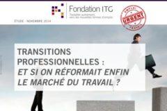 Mieux comprendre les mutations de l'emploi avec l'étude 2014 de la Fondation ITG