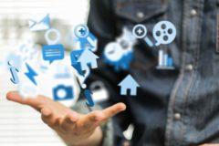 Sur combien de réseaux sociaux digitaux assurer une présence ?