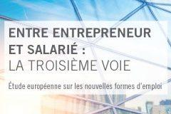 etude sur les nouvelles formes d'emploi en europe, entre entrepreneur et salarié