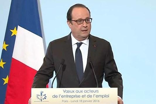 François Hollande parle du portage salarial dans son plan emploi 2016